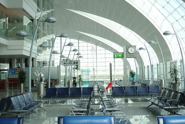 Dubai Airport is beautiful and high-tech